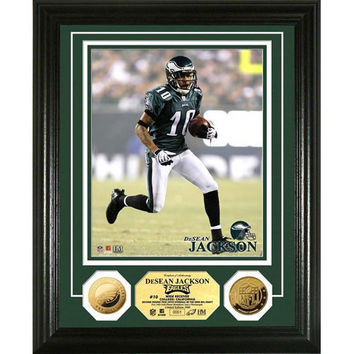 DeSean Jackson 24KT Gold Coin Photo Mint