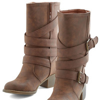 ModCloth Road to the Ranch Boot in Russet