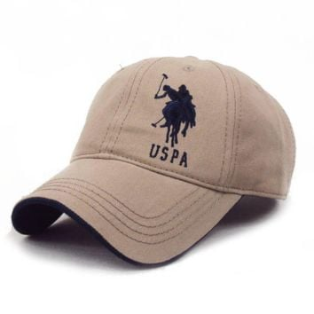 USPA Adjustable Fashion Leisure Baseball Hat POLO snapback cap Dual Colour snapback cap