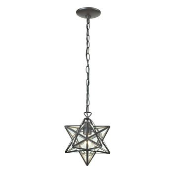 145-002 Star-1Light Glass Pendant Lamp - Free Shipping!
