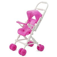 ReFaXi® Mini Barbie Little Sister Kelly Baby Infant Stroller Carriage DIY Assemble New