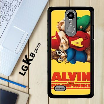Alvin And The Chipmunks F0267 LG K8 2017 / LG Aristo / LG Risio 2 / LG Fortune / LG Phoenix 3 Case