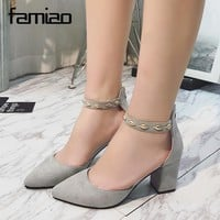 Women Pumps  High Heels Sexy  2017 Elegant Pumps Platform Party Wedding Shoes Slip On Shoes Woman Prom Rivet Zapatos Mujer Zip