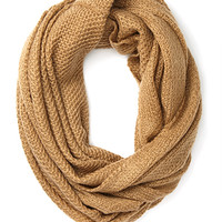 FOREVER 21 Waffle-Knit Infinity Scarf