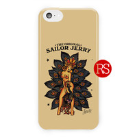 Sailor Jerry Rum Poster For iPhone 5 / 5S / 5C Case