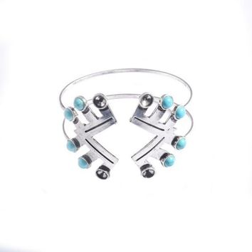 1PC Fashion Retro national wind Bangles