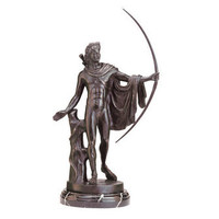 Apollo Belvedere (350 to 325 BC.) Quality Lost Wax Bronze Statue - SU2371 - Design Toscano