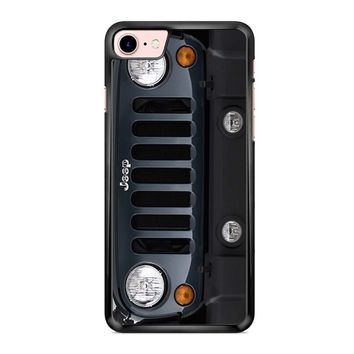 Jeep Wrangler Black iPhone 7 Case