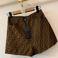 FENDI Women Casual Sports Running Beach Shorts