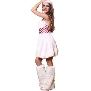 Fantasy Christmas Costume Women Santa Costume