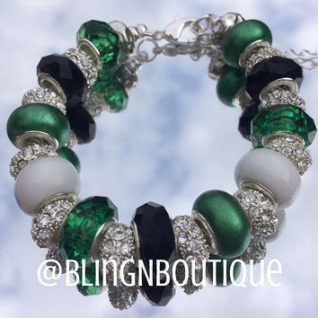 Spirit Bracelet - Green/White/Black