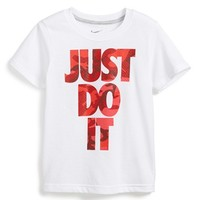 Boy's Nike 'Just Do It Camo' Dri-FIT Graphic T-Shirt,