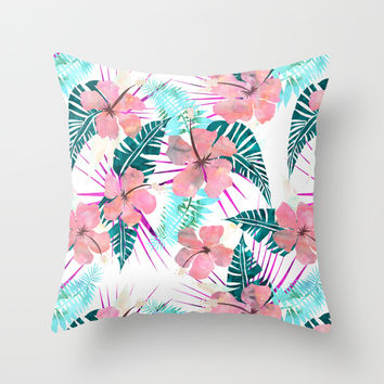 LaniKai {E} Throw Pillow by Schatzi Brown