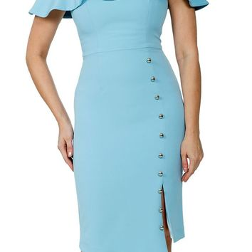 Jhene Dress - Baby Blue