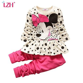 Mini Mouse Shirt & Pants Outfit (Several Colors and Styles)