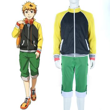 Tokyo Ghoul Nagachika Hideyoshi Hide Cosplay Costume Anime Cospay Casual Clothing Sweater Adult Men's Halloween Costume