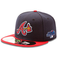 Atlanta Braves Authentic Collection On-Field 59FIFTY Alternate Cap with 2013 Postseason Patch - MLB.com Shop