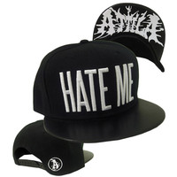 Attila Men's  Hate Me Baseball Cap Black