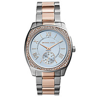 Michael Kors Ladies' Bryn Two-Tone Watch - Silver/Gold