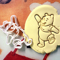 Winnie the Pooh Cookie Cutter great for cutting Bread, Cheese, Soft fruit and more Winnie the Pooh