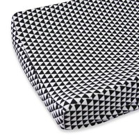 Caden Lane® Deco Changing Pad Cover in Black Triangles