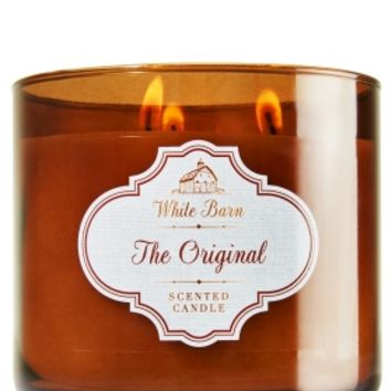3-Wick Candle White Barn Original
