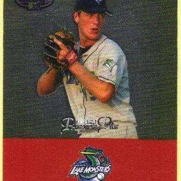2007 TRISTAR Prospects Plus 16 Jordan Zimmermann PD (Baseball Cards) Drafted by Washin