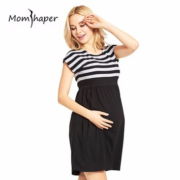 Maternity Clothing Women For Pregnant Sleeveless Pregnancy Dress Casual Clothing Cotton Maternity Dresses Pregnancy Clothes