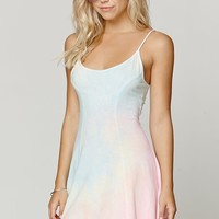 Billabong Same Name Tie Dye Dress - Womens Dress - Tie Dye