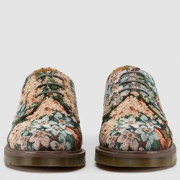 Dr Martens 1461 Pw Shoe MULTI NEEDLEPOINT - Doc Martens Boots and Shoes