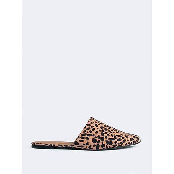Cheetah Slip On Loafers