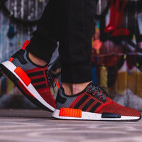 """Adidas"" NMD Trending Fashion Casual Sports Shoes Red"