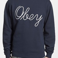 Men's Obey 'Stanton' Crewneck Sweatshirt