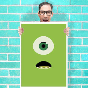 Despicable me Minions Dave Art Wall Art from geeksleeksheek on