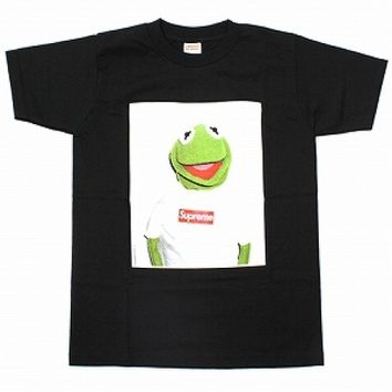 Supreme Kermit The Frog T-Shirt (Black)