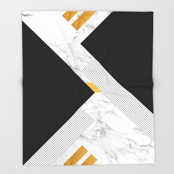Classical Glorify Throw Blanket by cadinera