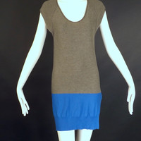 ALEXANDER WANG-Rayon Knit Tunic Dress, Size-4
