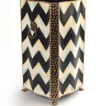 MacKenzie-Childs Zig Zag Umbrella Stand