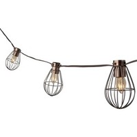 Smith & Hawken® Caged Lantern String Light