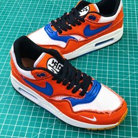 Dragon Ball Z Nike Air Max 1 908366-700 Sport Running Shoes - Best Online Sale