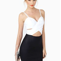 Nasty Gal Opposite Way Dress