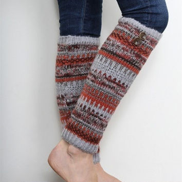 WB Alpine Legwarmers With Buttons