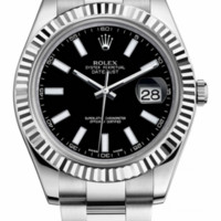 Rolex - Datejust II 41mm - Steel and White Gold - Fluted Bezel (116334)