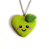 Teacher's Pet Necklace - Green