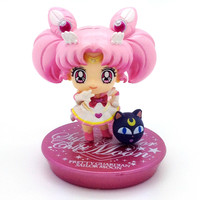 Sailor Moon Glitter Petit Chara Version 2 - Chibi Moon (A)