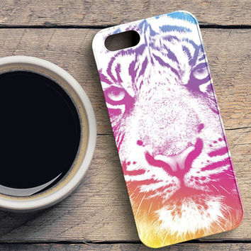 Colorful Indie Tiger iPhone 5/5S Case | casefantasy
