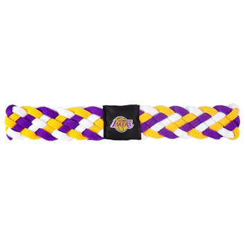 Los Angeles Lakers NBA Braided Head Band 6 Braid