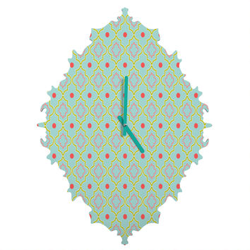 Caroline Okun Palm Beach Baroque Clock