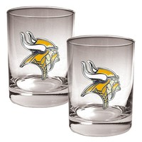 Minnesota Vikings 2-pc. Rocks Glass Set (Purple)