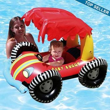 Baby Seat Buggy Rider Pool Float with Shade PM81549 | PoolFloatsMart.com